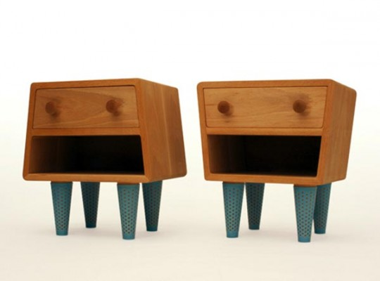 Tables de chevet socks merry design studio - Chevet architectuur ...