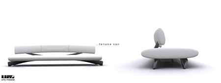 Canapés design Umo Masada