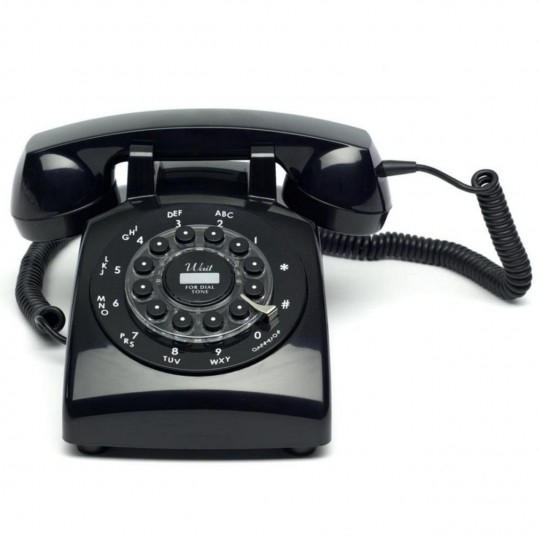 Téléphone rétro des années 50 Dreyfuss 500