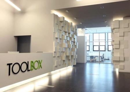 Toolbox, bureau modulaire par Caterina Tiazzoldi