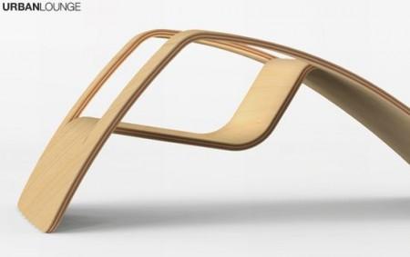 Fauteuil de jardin en bois design Urban Lounge