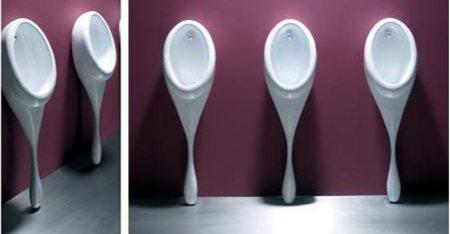 Spoon, urinoir design en forme de cuillère
