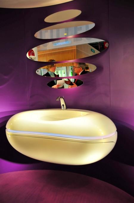 Meuble vasque Decotec DX 130