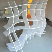 Etagère Wavy shelf Sang Hoon Kim