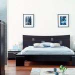 Ambiance déco chambre avec un lit Gautier (Yoko)