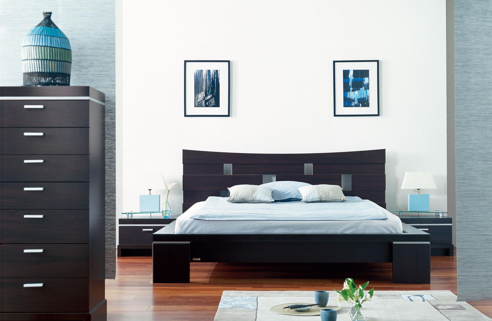 ambiance d co chambre avec un lit gautier yoko