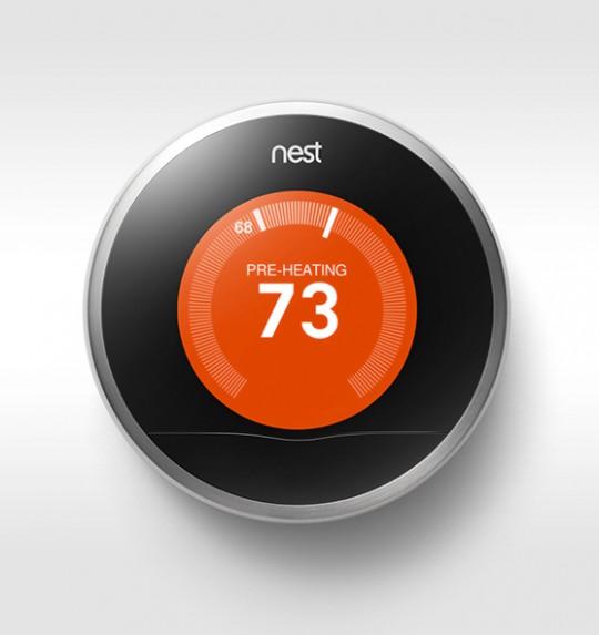 Nest - thermostat intelligent pour réduiire la consommation de chauffage