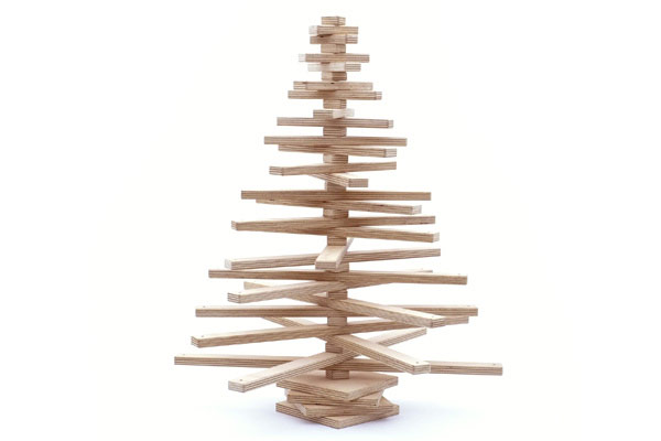 One Two Tree, le sapin de Noël en bois pliable (Video)
