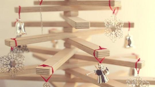 One Two Tree, le sapin de Noël en bois pliable