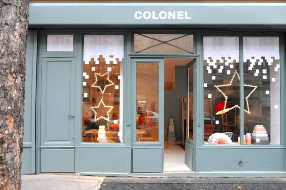 Boutique Colonel à Paris