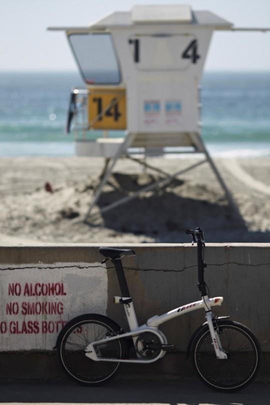 Vélo pliable de plage Btwin Tilt
