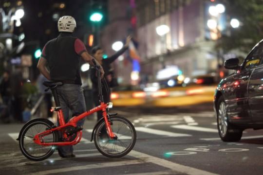 Vélo pliant urbain Btwin Tilt chez Decathlon