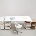 Bureau design Strates System de Mathieu Lehanneur