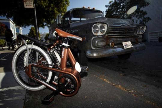 Vélo pliant Btwin Tilt 9 plié