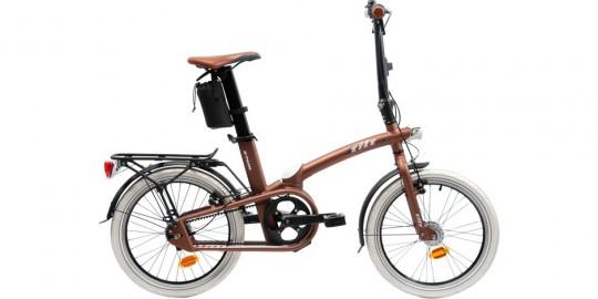 Bwtin Tilt 9 : le vélo pliant Décathlon