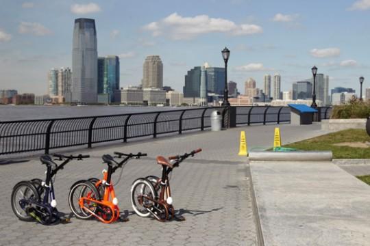 La gamme de vélo pliants Btwin Tilt 2012