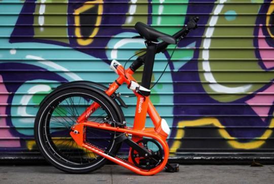 Vélo plié Btwin Tilt rouge