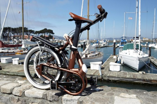 Bwtin Tilt : vélo pliable design