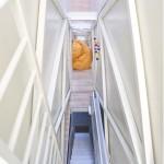 Décoration intérieure de la maison la plus étroite du monde