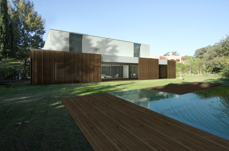 Maison contemporaine Quinta Patino II par Frederico Valsassina