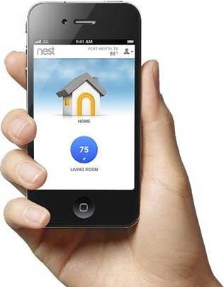 Nest thermostat piloté depuis votre iPhone