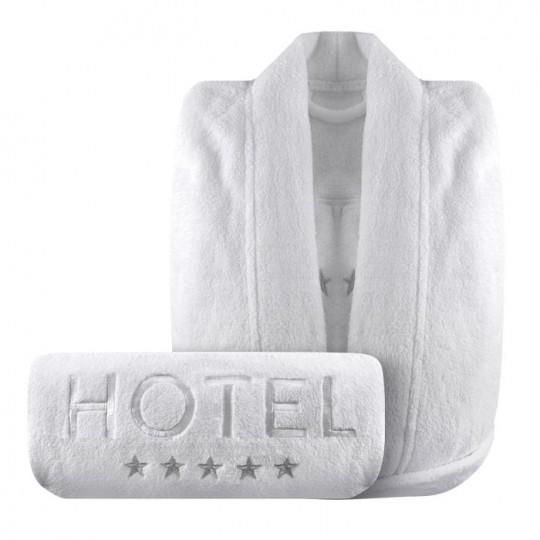 Peignoir hotel 5 toiles le peignoir d 39 h tel de luxe pas cher for Peignoir eponge homme pas cher