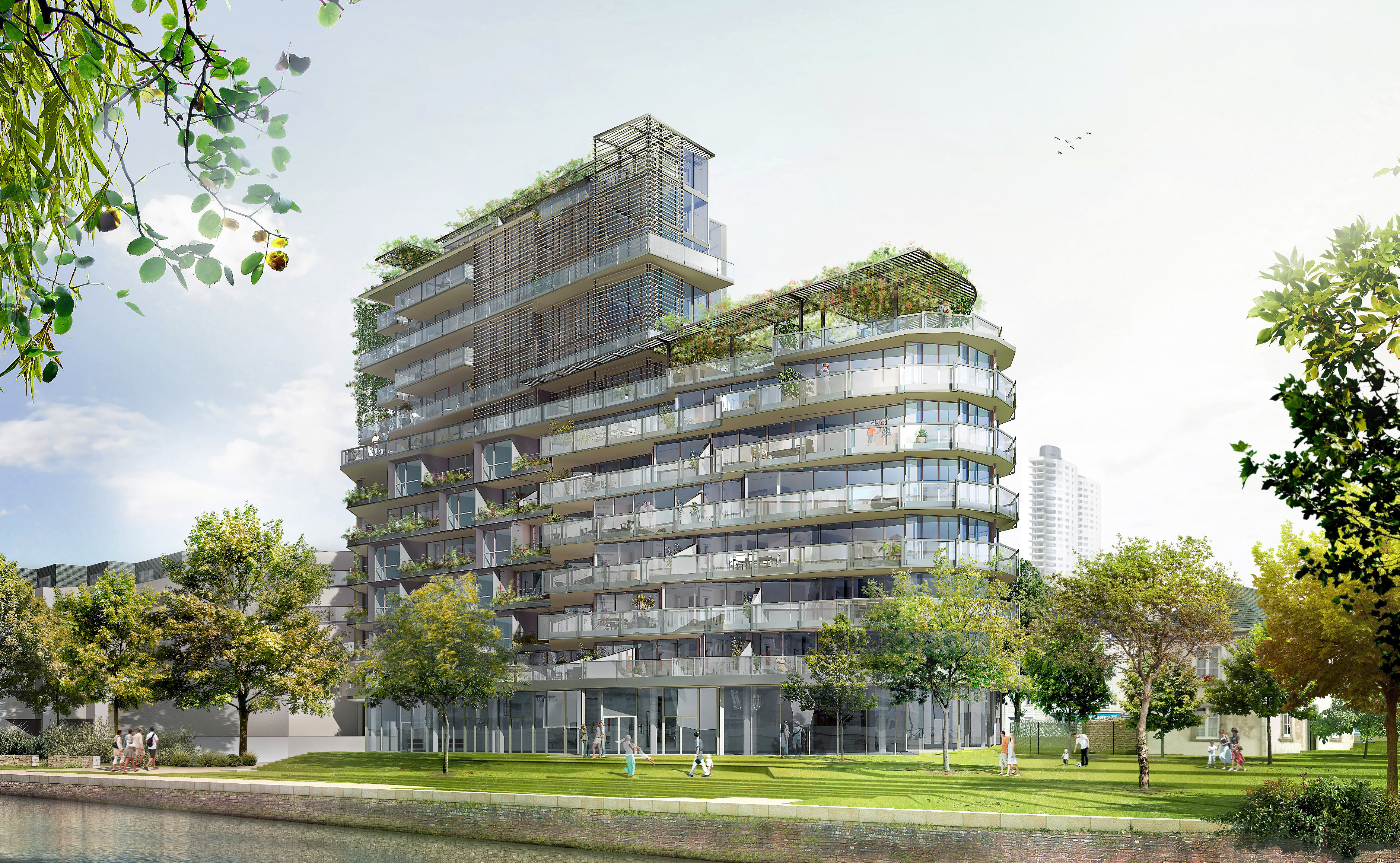 Cap mal rennes r sidence de luxe sign e jean nouvel for Residence luxe