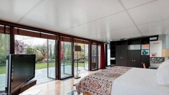 Chambre de l'hôtel particulier de Depardieu