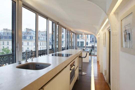 Appartement Le Yacht (Paris) : Cuisine