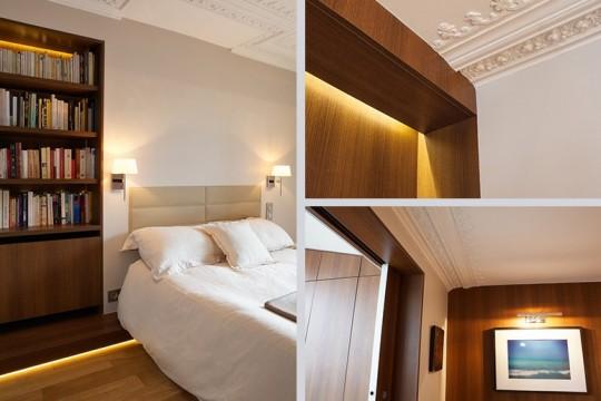 Appartement Le Yacht (Paris) : Chambre