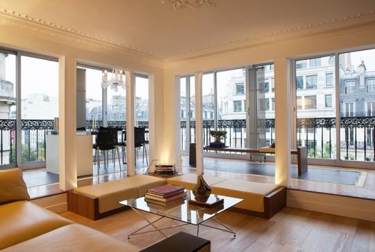 Appartement Le Yacht (Paris) : Salon