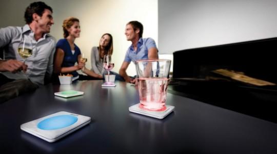 Lumiware Philips : Dessous de verre lumineux