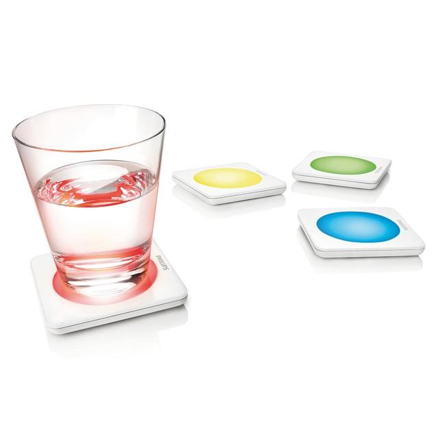 [Philips Lumiware] Les dessous de verre lumineux