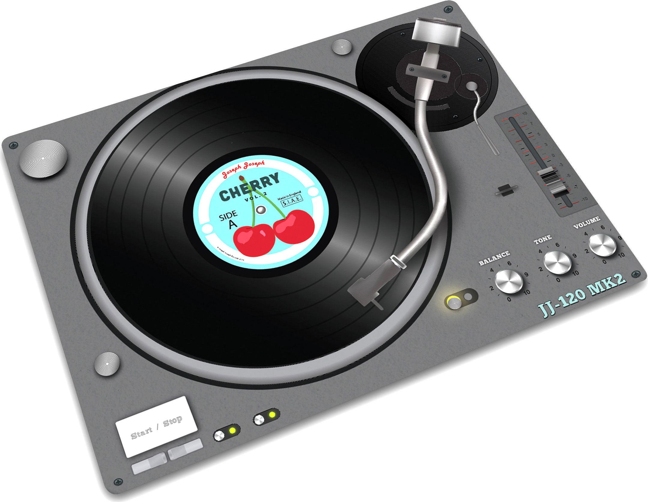 Ca vous dirait de mixer (pardon de cuisiner) sur cette platine vinyle ?
