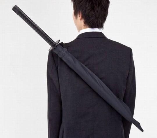 Parapluie katana de samurai Samurai umbrella