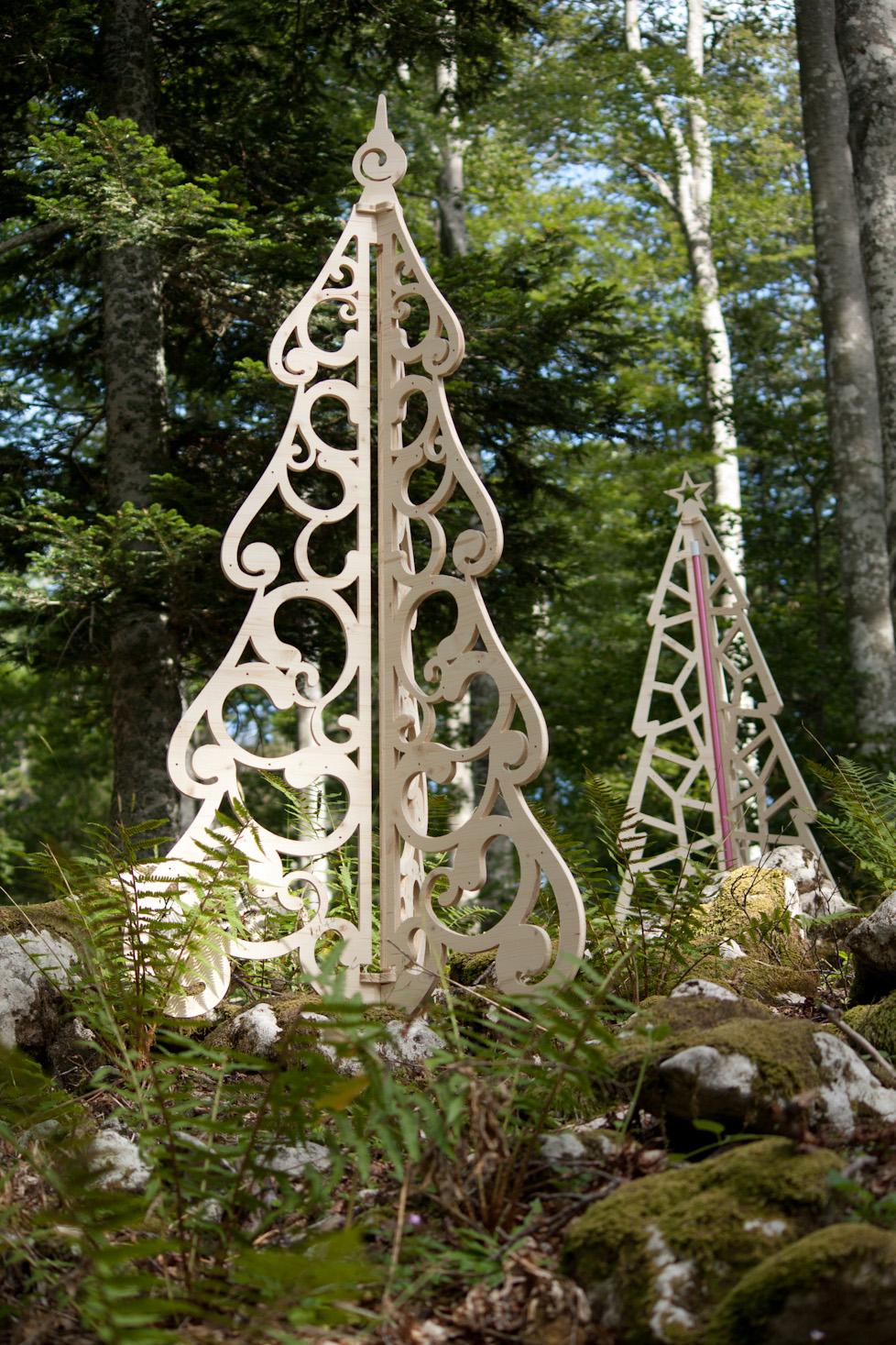 Deco De Noel Originale sapin de noël original barok par splin design