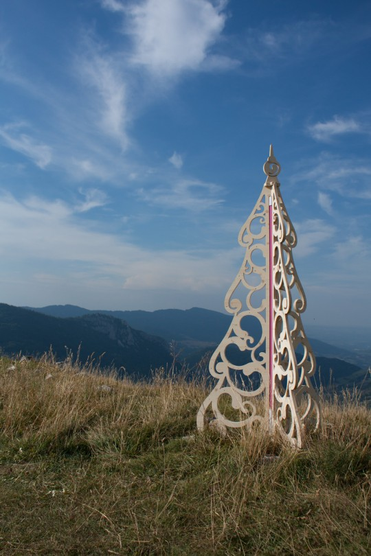 Sapin de Noël original Barok - Spin design