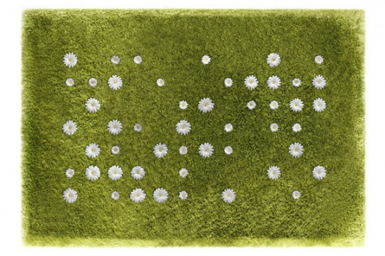 Tapis pelouse + fleurs Daisy Garden