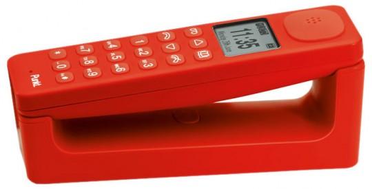 Téléphone sans fil Punkt rouge