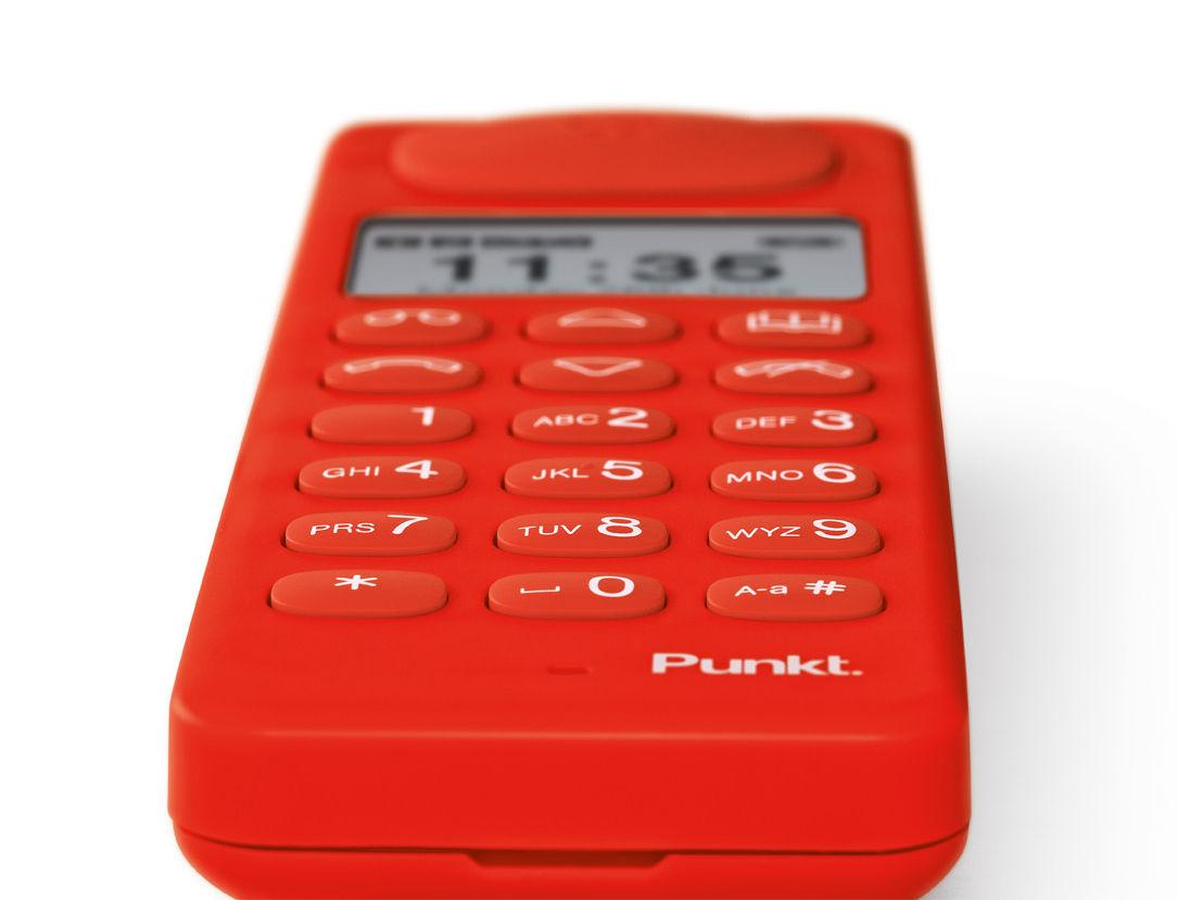 Touches du clavier du téléphone sans fil Punkt