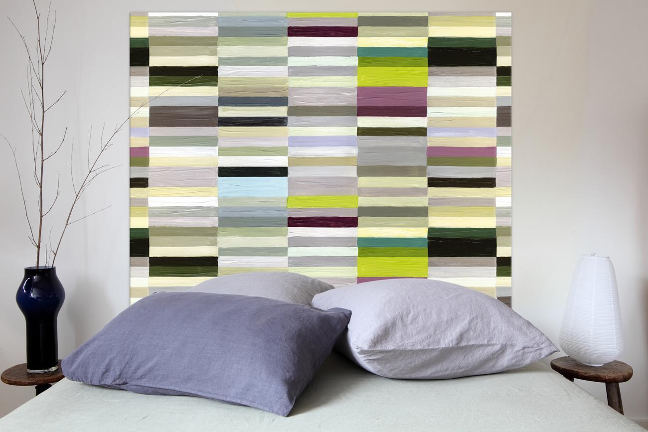 t te de lit contemporaine mademoiselle tiss. Black Bedroom Furniture Sets. Home Design Ideas