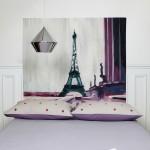 Tête de lit Tour Eiffel Mademoiselle Tiss