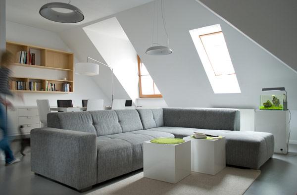 Inspiration déco :Comment aménager un appartement sous les combles