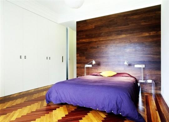 Chambre de l'appartement La Coruna