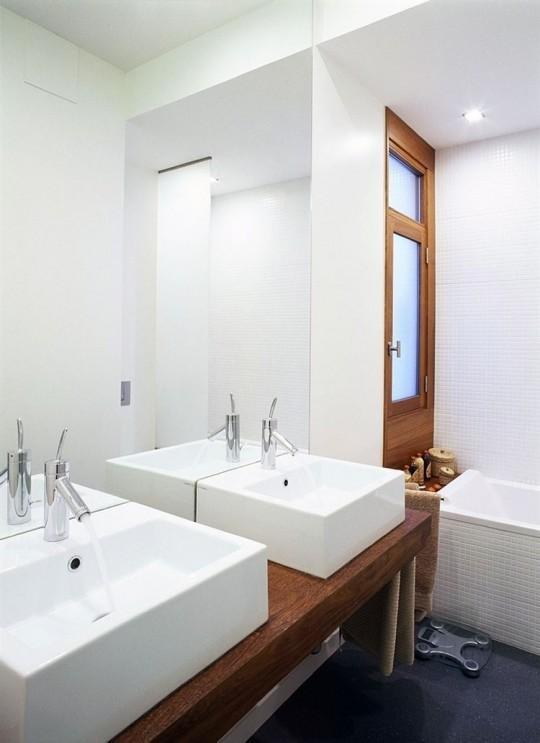 Salle de bain de l'appartement La Coruna