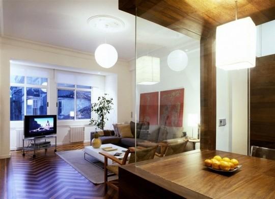 Décoration intérieure de l'appartement La Coruna