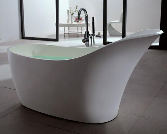 ma salle de bain design osez la baignoire ilot en solid. Black Bedroom Furniture Sets. Home Design Ideas