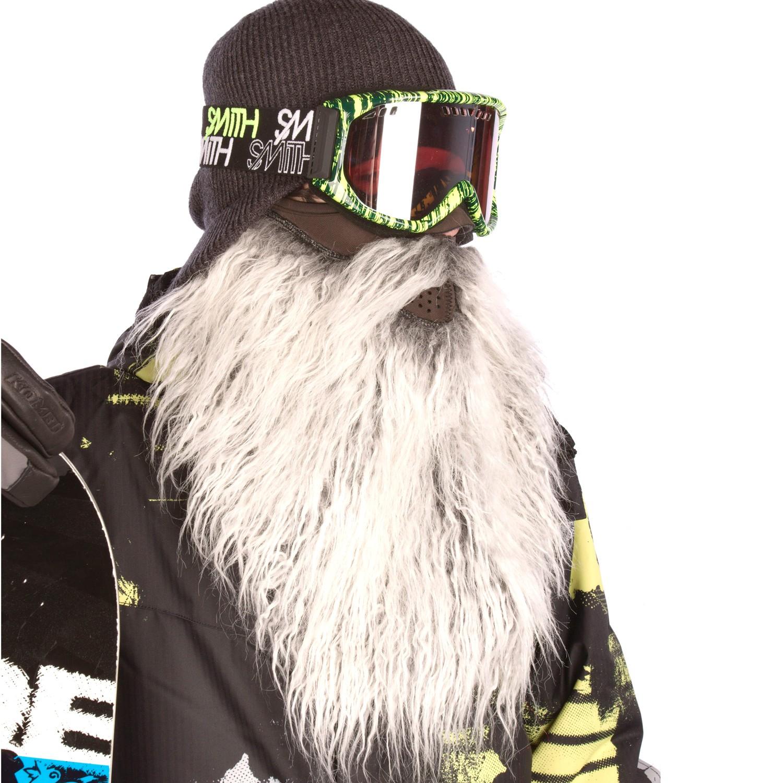 Beardski : Masque de ski avec une barbe