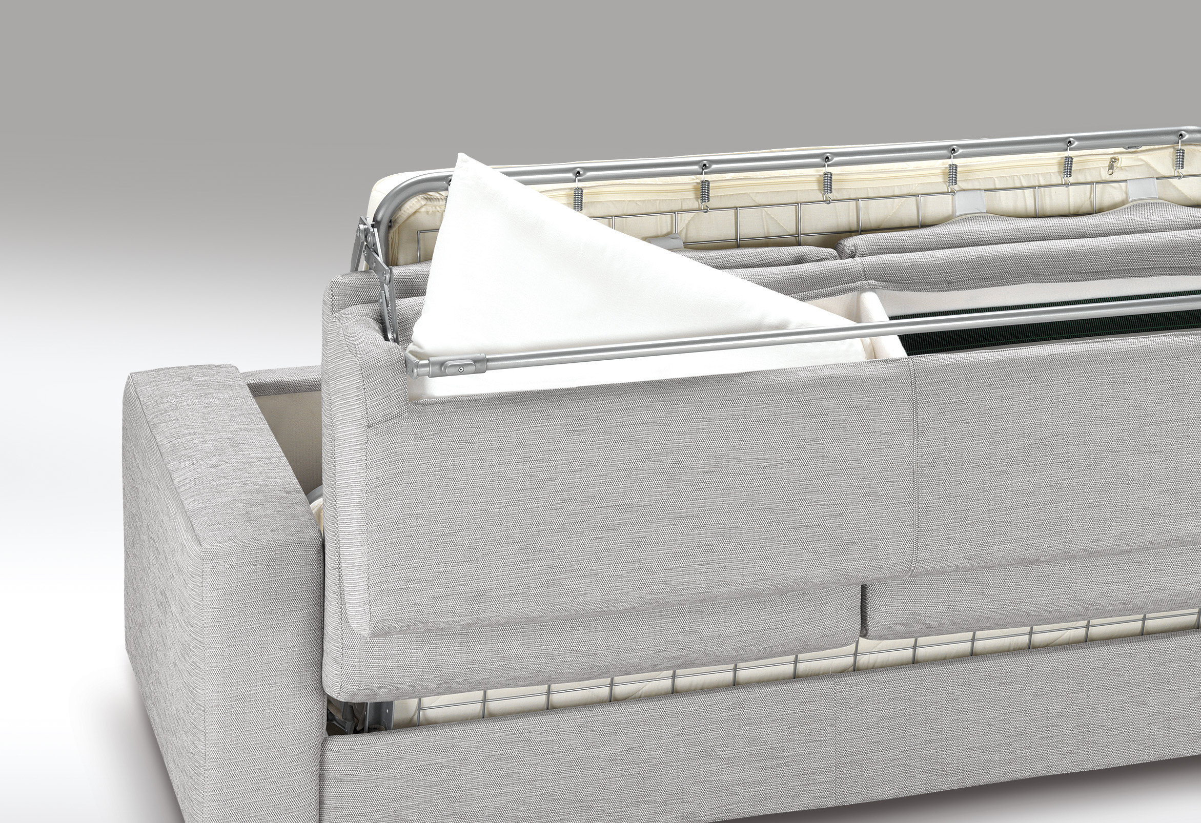 Canap convertible en tissu roma for Recouvrir un canape en tissu