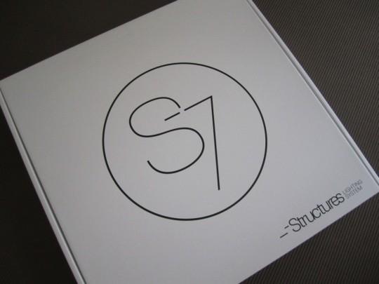 Carton du lampadaire S7